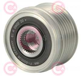CCP90306 FRONT INA Type PR6 17 mm 52,50 mm 38,50 mm