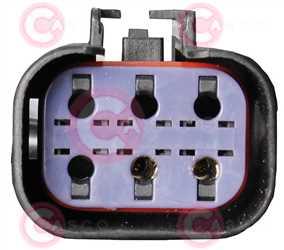 CEF72011 PLUG FORD Type 12V 16,70Amp