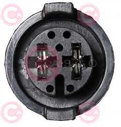 CEF73326 PLUG VAG Type 12V 20,80Amp