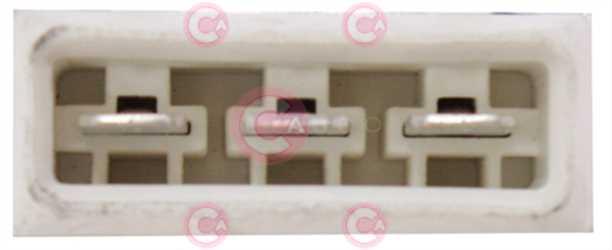 CEF73331 PLUG VAG Type 12V 20,80Amp