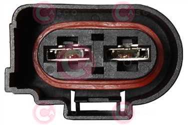 CEF73361 PLUG VAG Type 12V 37,50Amp