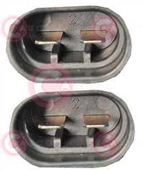 CEF74002 PLUG FIAT Type 12V 13,30/15Amp