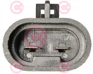 CEF74003 PLUG FIAT Type 12V 23,30Amp