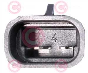 CEF74010 PLUG FIAT Type 12V 10Amp