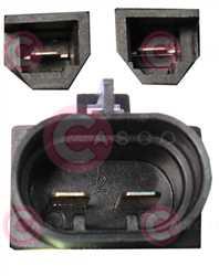 CEF74018 PLUG FIAT Type 12V 20Amp