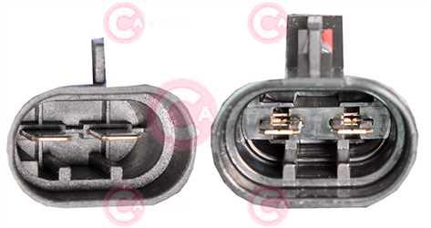 CEF74023 PLUG FIAT Type 12V 30Amp