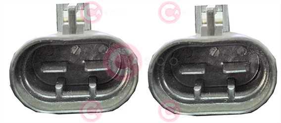 CEF74024 PLUG FIAT Type 12V 25Amp