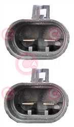 CEF74027 PLUG FIAT Type 12V 15,80/21,70Amp