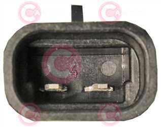 CEF74035 PLUG FIAT Type 12V 8,30Amp