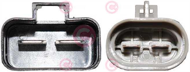 CEF74043 PLUG FIAT Type 12V 28,30Amp