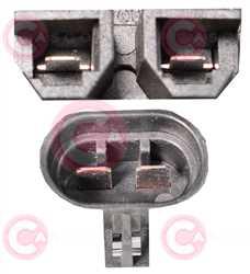 CEF74046 PLUG FIAT Type 12V 15Amp