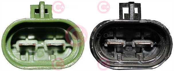 CEF74050 PLUG FIAT Type 12V 25Amp