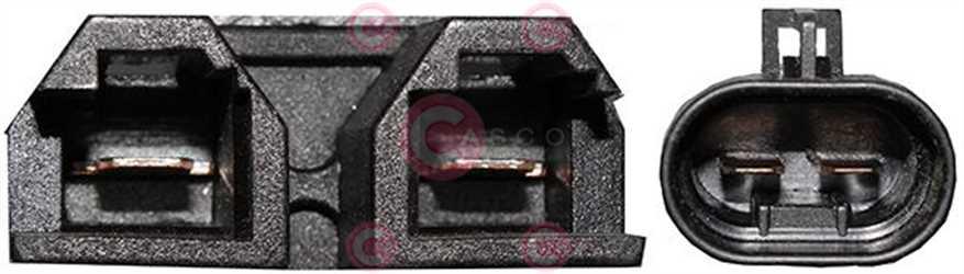 CEF74067 PLUG FIAT Type 12V 21,70Amp