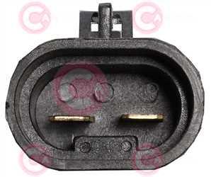 CEF74070 PLUG FIAT Type 12V 22,10Amp
