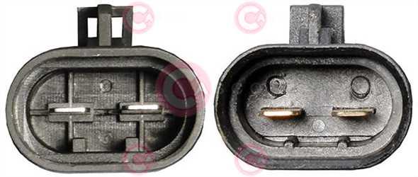 CEF74075 PLUG 12V 25Amp