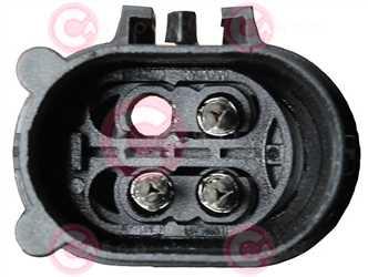 CEF75020 PLUG MINI Type 12V 13,50/22Amp