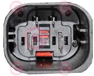 CEF76002 PLUG MERCEDES-BENZ Type 12V 50Amp