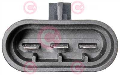CEF77035 PLUG OPEL Type 12V 16,70Amp