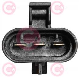 CEF77323 PLUG GM Type 12V 16,70Amp