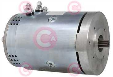 CEM21635 SIDE LETRIKA Type 24V 0,15kW
