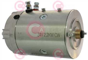 CEM22606 SIDE EFEL Type 24V 2,20kW CW