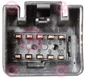 CLS72008 PLUG FORD Type 12V