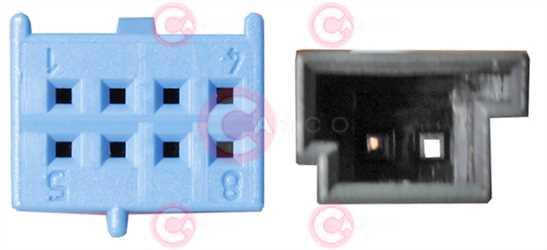 CLS76801 PLUG MERCEDES Type 12V
