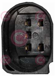 CMG73010 PLUG VAG Type 12V