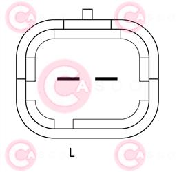CAL15166 PLUG VALEO Type