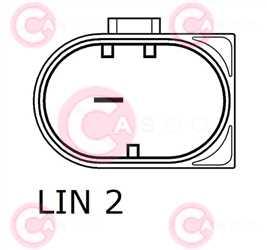 CAL10376 PLUG BOSCH Type 12V 180Amp PFR7