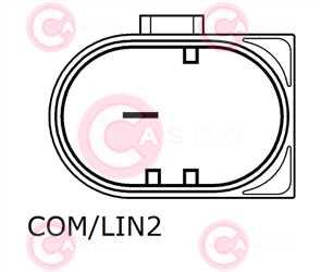 CAL10024 PLUG BOSCH Type 12V 150Amp PFR7