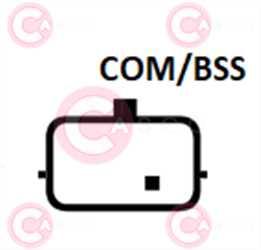 CAL10399 PLUG BOSCH Type 12V 120Amp PFR7