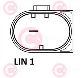 CAL10564 PLUG BOSCH Type 12V 140Amp PFR6