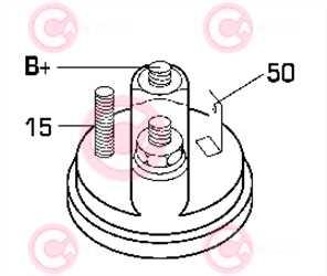 CST10129 PLUG BOSCH Type 12V 0,80kW 10T CW