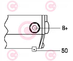 CST40294 PLUG DENSO Type 12V 2kW 10/11T CW