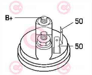 CST10242 PLUG BOSCH Type 12V 1,70kW 9T CW