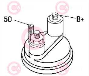CST15103 PLUG VALEO Type 12V 1,40kW 11T CW
