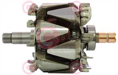 CRO15104 DEFAULT VALEO Type 12V 80Amp 95,30mm