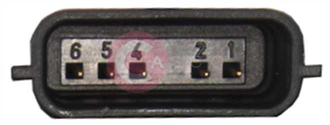 CVG71010 PLUG RENAULT Type 12V