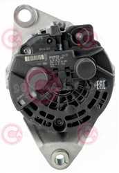 CAL10107 BACK BOSCH Type 12V 90Amp PR5