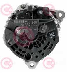 CAL10384 BACK BOSCH Type 12V 140Amp PFR6