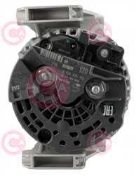 CAL10385 BACK BOSCH Type 12V 120Amp PR5
