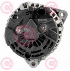 CAL10386 BACK BOSCH Type 12V 150Amp PR6