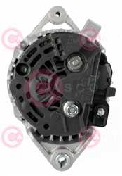 CAL10398 BACK BOSCH Type 12V 100Amp
