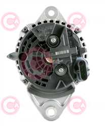 CAL10656 BACK BOSCH Type 24V 150Amp PR8