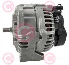 CAL10673 SIDE BOSCH Type 24V 150Amp