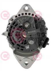 CAL10688 BACK BOSCH Type 24V 150Amp