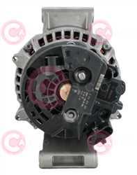 CAL10691 BACK BOSCH Type 24V 150Amp PR8