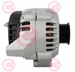 CAL12109 SIDE DELPHI Type 12V 105Amp 6Ribs