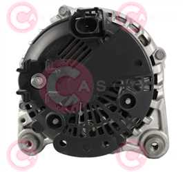CAL15016 BACK VALEO Type 12V 140Amp PFR6
